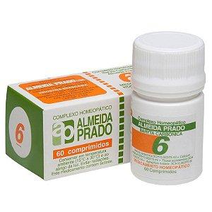 Complexo Homeopático Baryta carbônica Almeida Prado Nº 6 Amigdalite - 60 Comprimidos