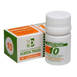 Complexo Homeopático Ipeca Almeida Prado Nº 10 Bronquite - 60 Comprimidos