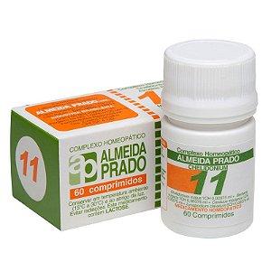 Complexo Homeopático Chelidonium Almeida Prado Nº 11 Fígado - 60 Comprimidos