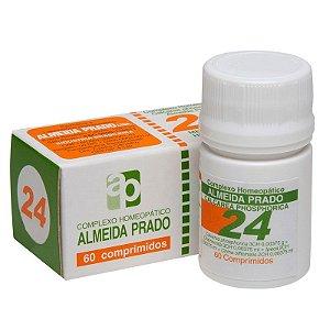 Complexo Homeopático Calcarea Phosphorica Almeida Prado Nº 24 Dentição - 60 Comprimidos
