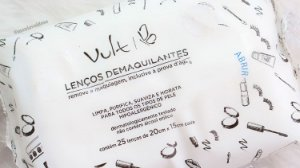Lenço Demaquilante Vult - (25 unidades)