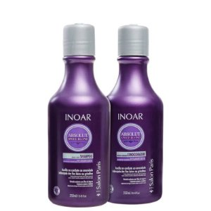 Kit Inoar Sh Duo Speed Blond - 250ml + Cond Speed Blond - 250ml
