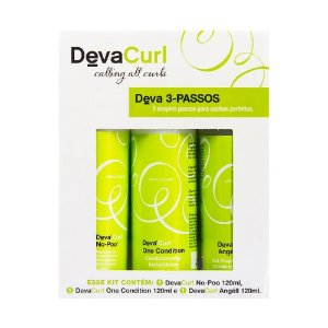 Deva Curl Kit 3 Passos (3 Produtos)