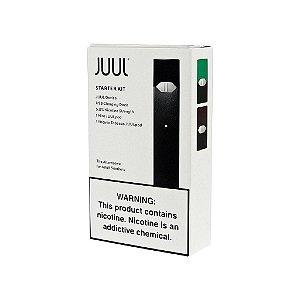 Juul Starter Kit c/ 2 Pods + Refil Mint 4 Pods