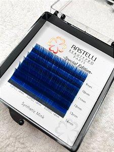 Cílios para Clássico Fio a Fio - Caixa Mini Azul 0.15 Mix