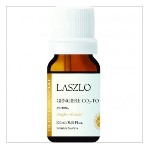 Óleo Essencial de Gengibre CO2 - TO - Laszlo - 10,1 ml