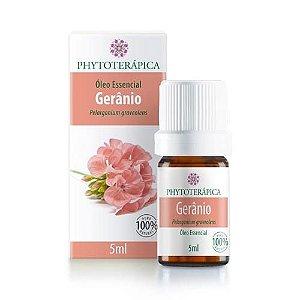 Óleo Essencial de Gerânio - Phytoterápica - 05 ml