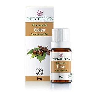Óleo Essencial de Cravo (Folhas) - Phytoterápica - 10 ml