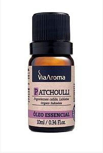 Óleo Essencial de Patchoulli - Via Aroma - 10 ml