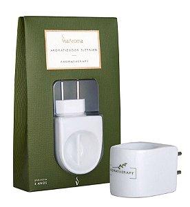Aromatizador Elétrico de Porcelana (Aromatherapy) - Via Aroma - Bivolt