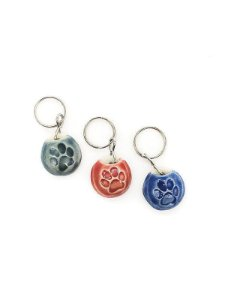 Colar difusor de aroma para pets azul