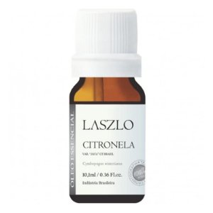 Óleo Essencial de Citronela GT Brasil - Laszlo - 10,1 ml