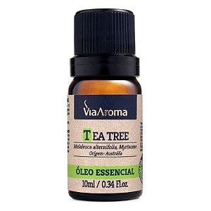 Óleo Essencial de Tea Tree (Melaleuca) - Via Aroma - 10 ml