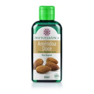 Oleo vegetal de amendoa doce 60 ml