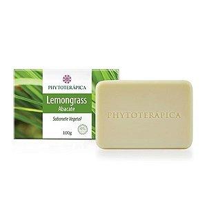 Sabonete vegetal lemongrass e abacate 100 g