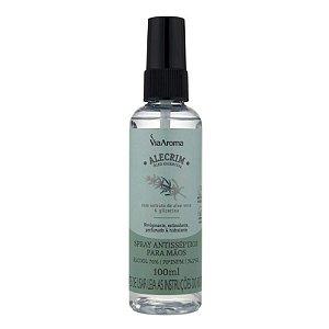 Spray antisseptico para mãos alecrim 100 ml