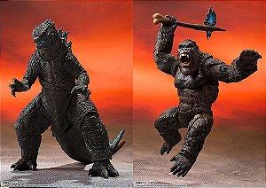 SET S.H. Monsterarts Kong and Godzilla 2021 - Monster Arts