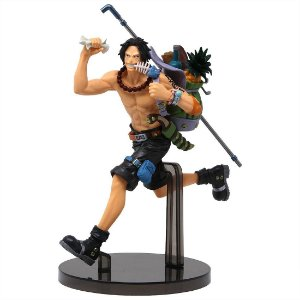 Boneco One Piece Ace Mania Produce Banpresto