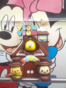 Disney Tsum Tsum Figure Chocolate House