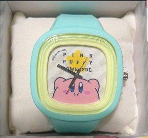 Relogio de Pulso Kirby - Nintendo Pink Puff