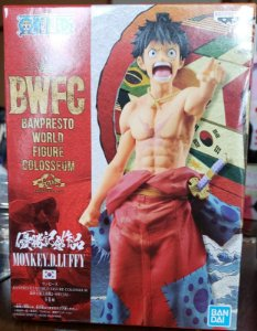 One Piece BWFC Luffy