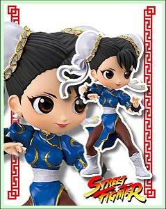 Street Fighter Qposket Shun LI Azul