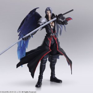 Final Fantasy Sephiroth Limited Version Com Cabeça Extra