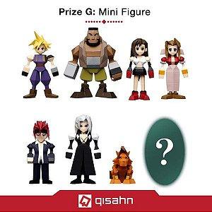 Set com 7 figuras poligonais do Final Fantasy