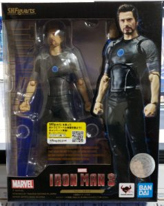 S. H. Figuarts Iron Man 3 Tony Stark