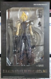 Final Fantasy VII Play Arts Vol 1 Cloud Strife Action Figure