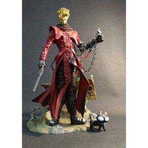 McFarlane Trigun VASH THE STAMPEDE 3D Animation