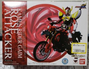 S H Figuarts Kamen Rider Gaim Rose Attacker