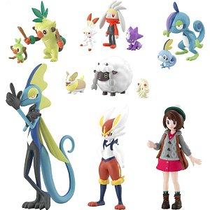 Pokemon Scale World Galar Region Set