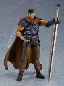 PRÉ-ORDER - Berserk - Guts - Figma (#501) - Band of the Hawk ver., Repaint Edition