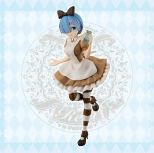 Re Zero SSS figure Rem in Wonderland Antique Ver.