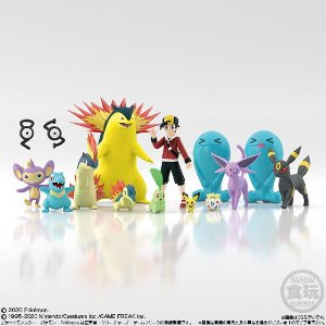 Pokemon Scale World Johto Region Set