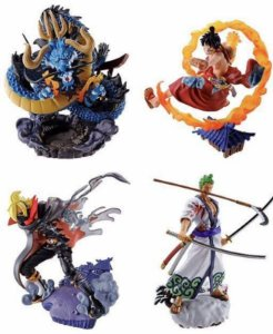 One Piece Logbox Re:birth Wano Country Vol.1 Box Of 4 Figure