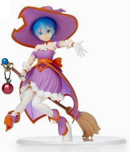 Re Zero Starting Life in Another World: Rem Cute Witch SPM Figure by SEGA
