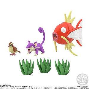 Pokémon Scale World - Margikap, Ratata e Pidgey