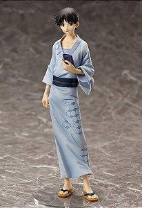 FRETE GRATIS - PRE ORDER - Y-STYLE Rebuild of Evangelion Shinji Ikari Yukata Ver. 1/8 Complete Figure PEDIDO ATE 05/04