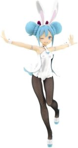 Hatsune Miku BiCute Bunnies Figure-White Version