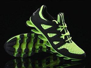 Adidas Springblade Pró - Preto c/ Amarelo