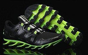 Adidas Springblade Pró - Preto c/ Verde