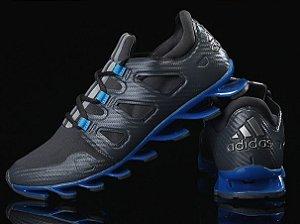 Adidas Springblade Pró - Preto c/ Azul