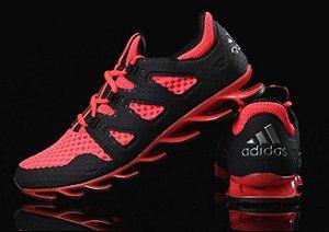 Adidas Springblade Pró - Preto c/ Vermelho