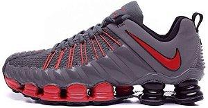 Nike Total Shox - Cinza c/ Vermelho