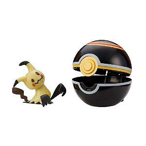 Pokémon - Clip N Go - Mimikyu + Pokebola Luxury Ball - Sunny