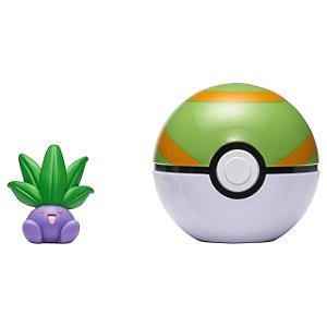 Pokémon - Clip N Go - Oddish + Pokebola Nest Ball - Sunny