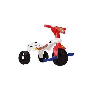 Velotrol Triciclo Super Patrol Canina -C/ Haste - Samba