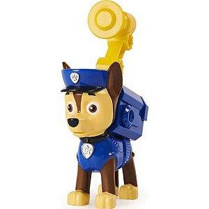 Figura Chase  c/ Som - Pack De Ação Patrulha Canina - Sunny